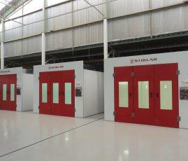 Auto Japan Honda, MG - cabines de pintura STK AQUA