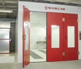 Forlan Ford, BH - cabine de pintura automotiva Aqua
