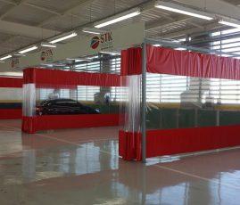 Minas France Renault, BH - Áreas de preparação e lixamento