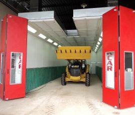 Sotreq Manaus - cabine de pintura STK IND