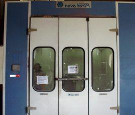 Cabine de pintura usada italiana Nova Verta